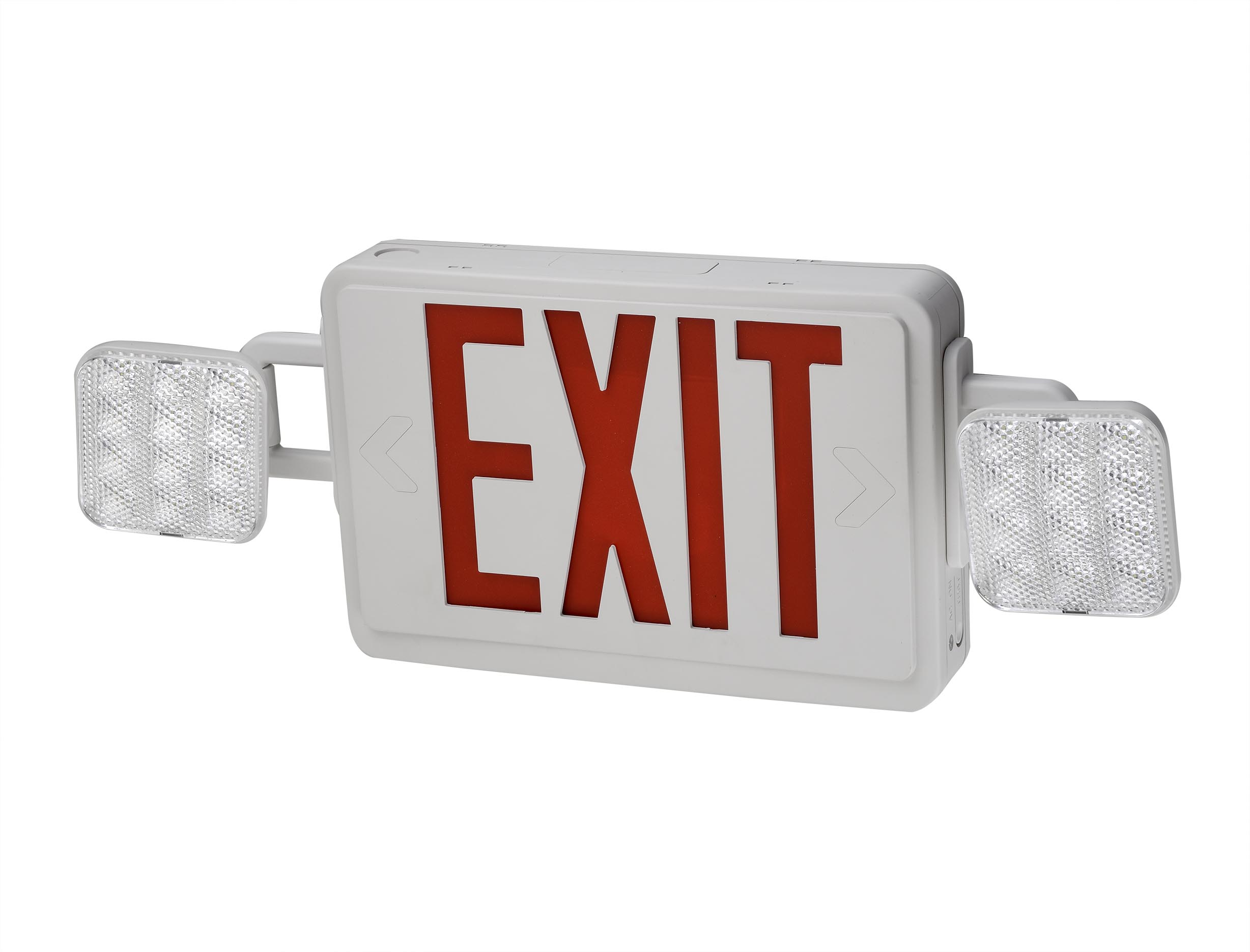 Emergency Light - Exit Sign Combo with Remote Capability