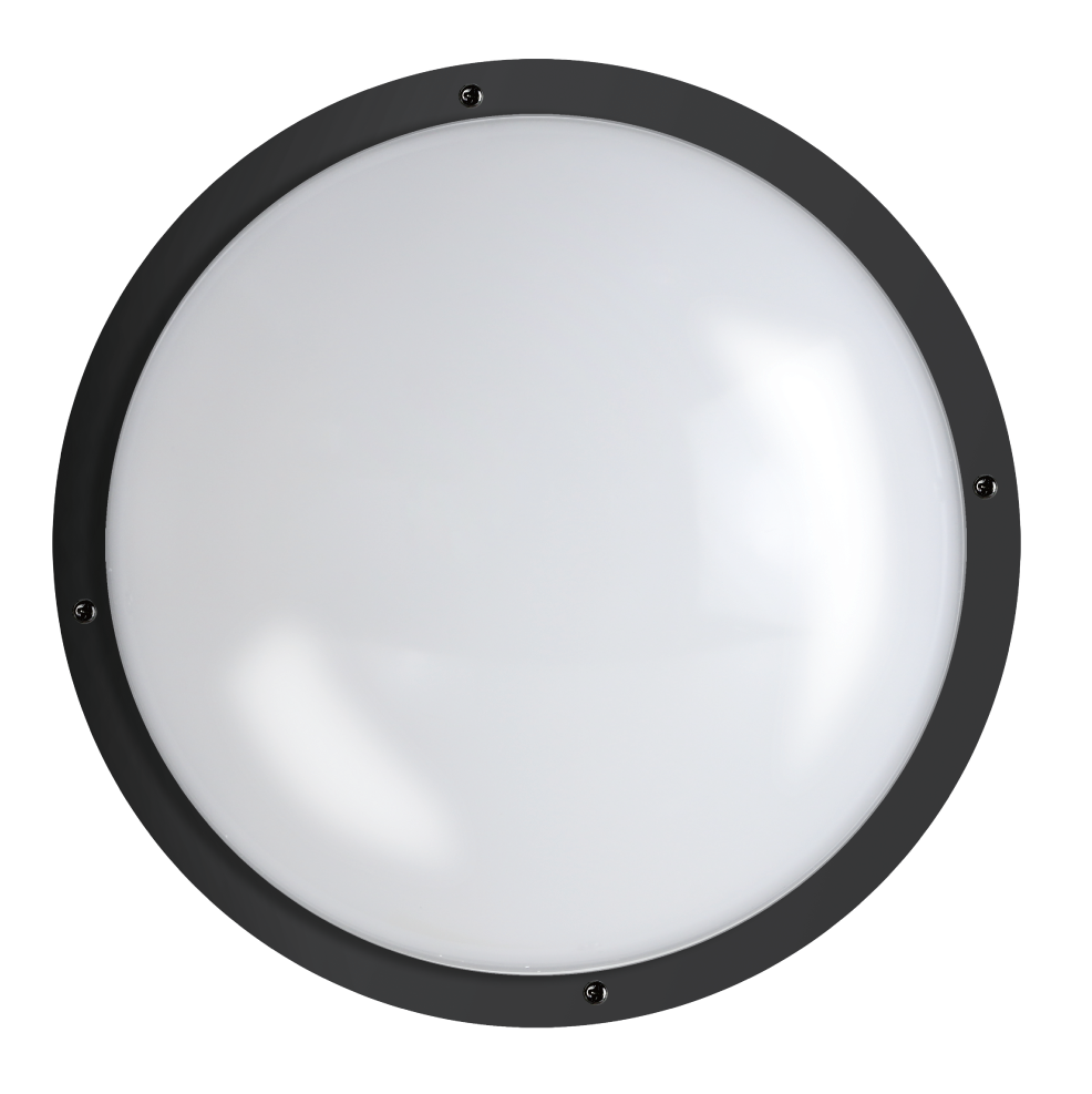 "Shorebreaker® 10"" Outdoor Light - Round Black"