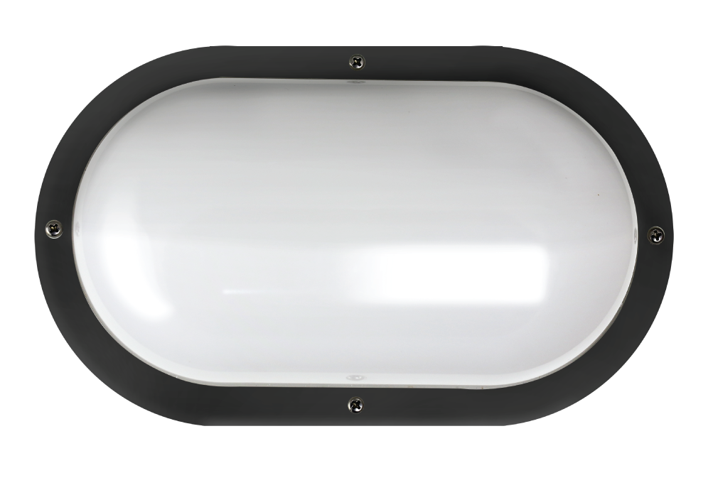 "Shorebreaker® 10"" Color Preference® Outdoor Light - Oval Black"